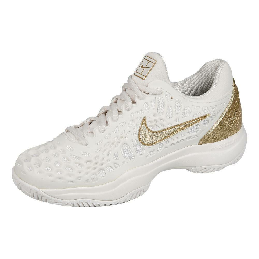 Кроссовки женские Nike Zoom Cage 3 - Phantom/Metallic Gold