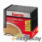 Коробка Hama H-11432 Коробки для CD Slim Box 20 шт.