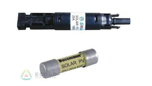 Плавкий предохранитель для солнечных батарей 20А