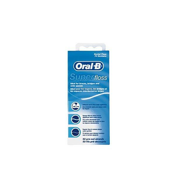 Нить Oral-B (Орал Би) Super floss зубная 50 нитей