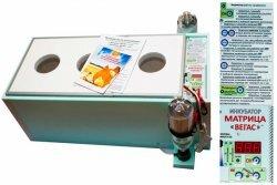 Инкубатор для яиц Матрица Вегас на 90 яйц с автоматическим переворотом (12/220В)