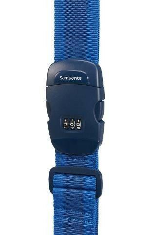 Аксессуар Samsonite Багажный ремень CO1*058 Travel Accessories Luggage Strap/Lock *11 Blue