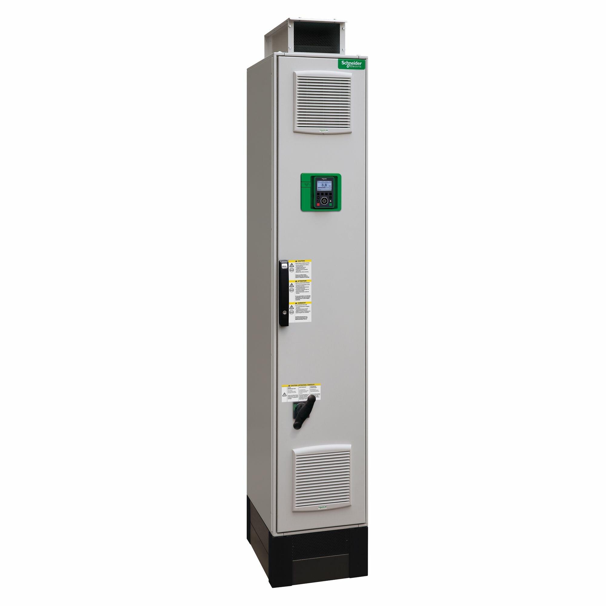 Преобразователь частоты 132 кВт 380-440В 3-х фазный, шкафной, IP54 Schneider Electric, ATV650C13N4F