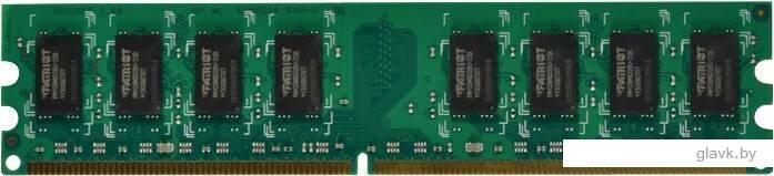 Оперативная память Patriot Signature 2GB DDR2 PC2-6400 (PSD22G80026)