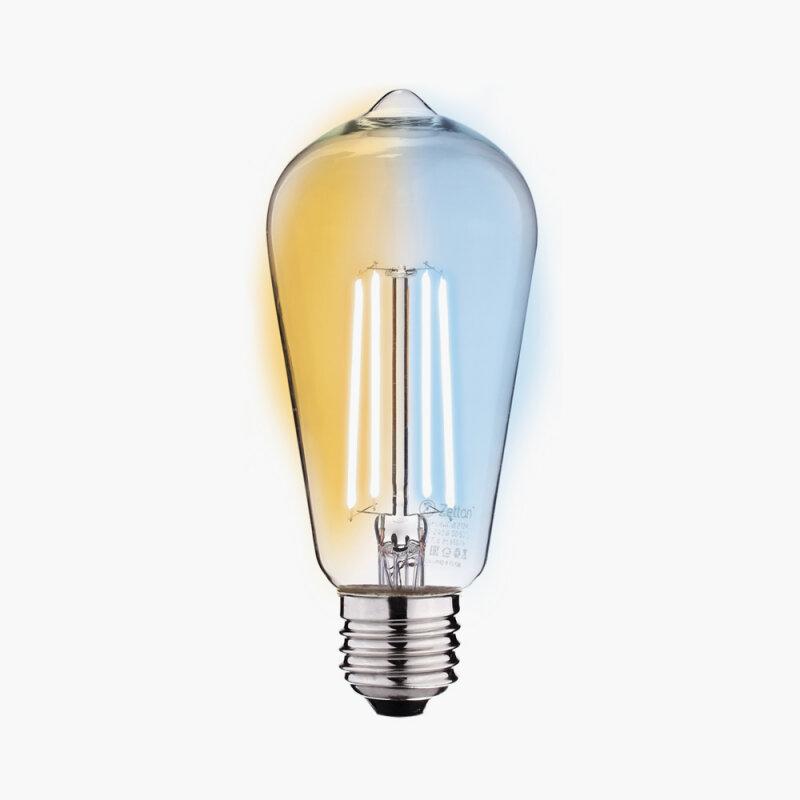 Лампа Zetton E27 6Вт 2200K фото 1