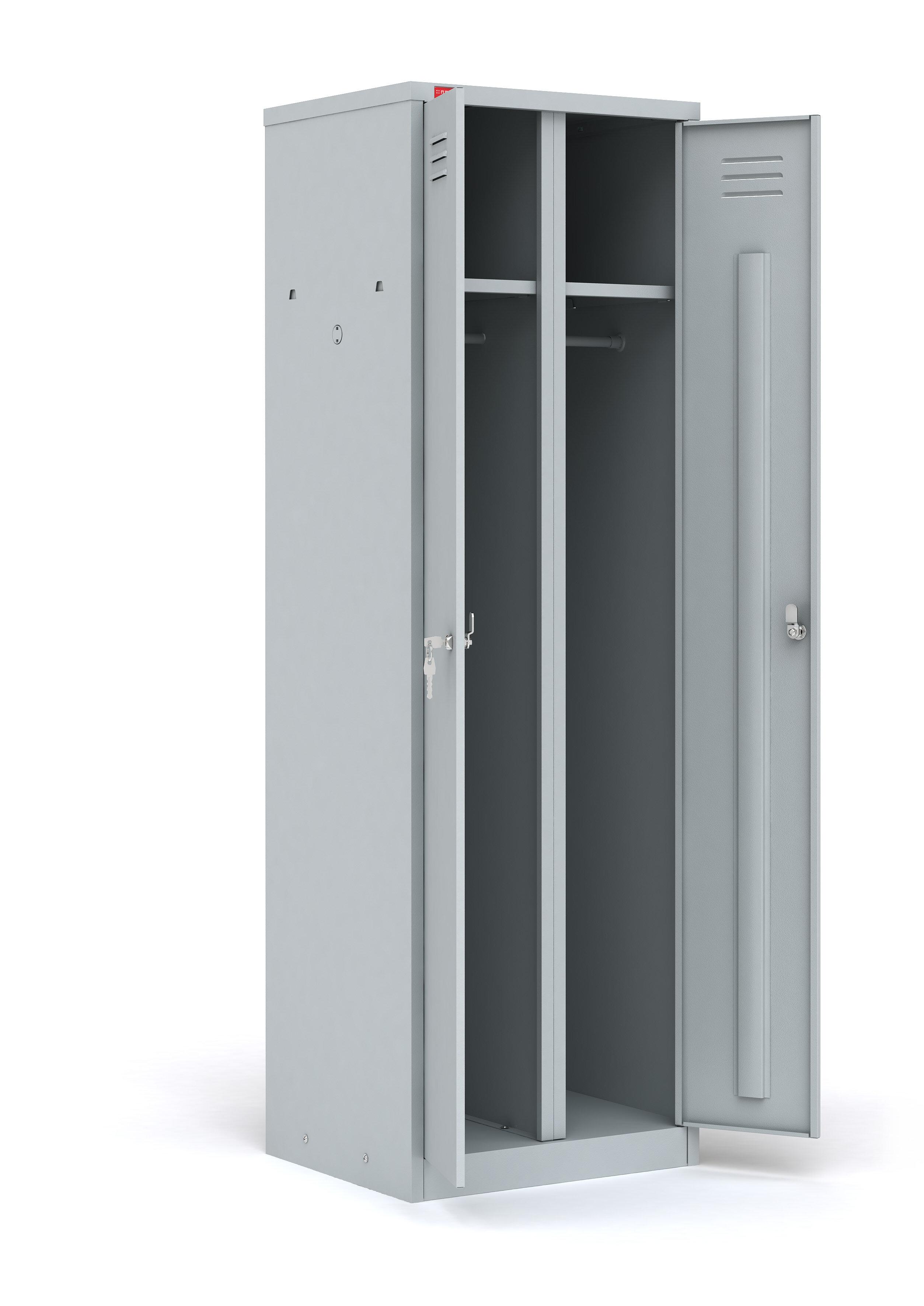 Двухсекционный шкаф ШРМ-АК (1860х600х500)