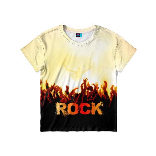 Детская футболка 3D Rock концерт 116