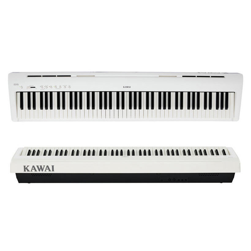 Цифровое пианино Kawai ES110W белое