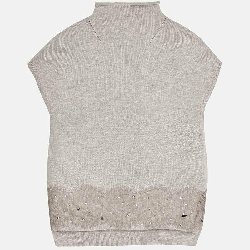Джемперы и свитеры MAYORAL Жилет (безрукавка) бежевый