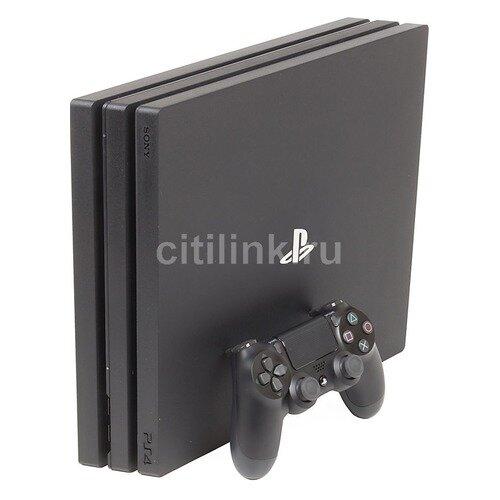 Игровая консоль SONY PlayStation 4 Pro с 1 ТБ памяти, CUH-7208B, черный