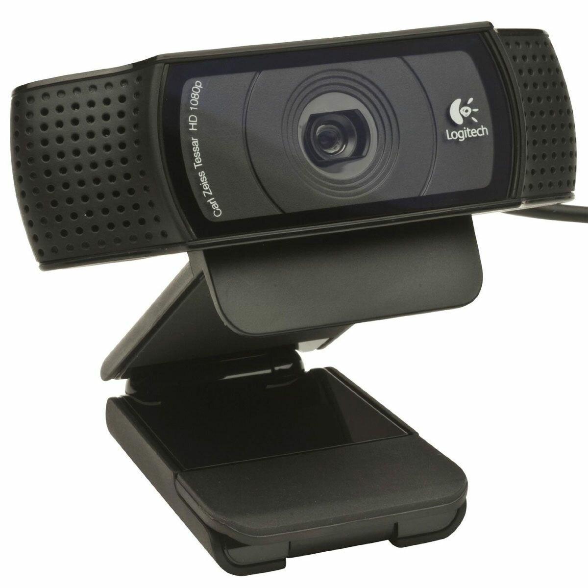 Web-камера Logitech HD Pro Webcam C920, Black