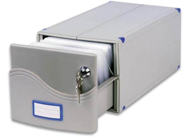 Бокс для CD/DVD дисков ProfiOffice MB-200SL 185x150x375mm на 200 дисков