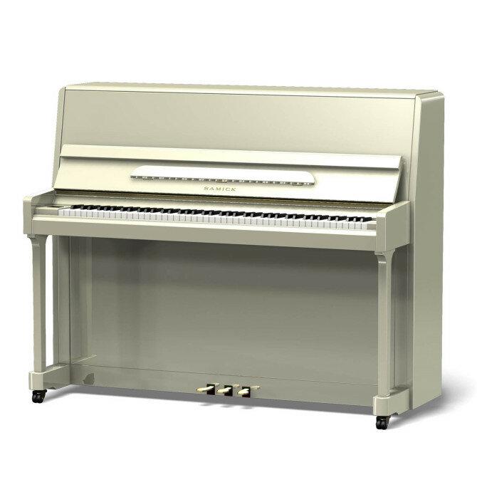 Samick JS118D/WHHP пианино, 118x149x59, 214 кг, белое полированное