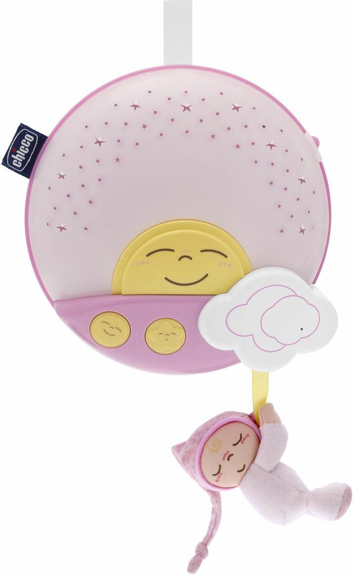 Ночник-проектор Chicco Закат (розовый)