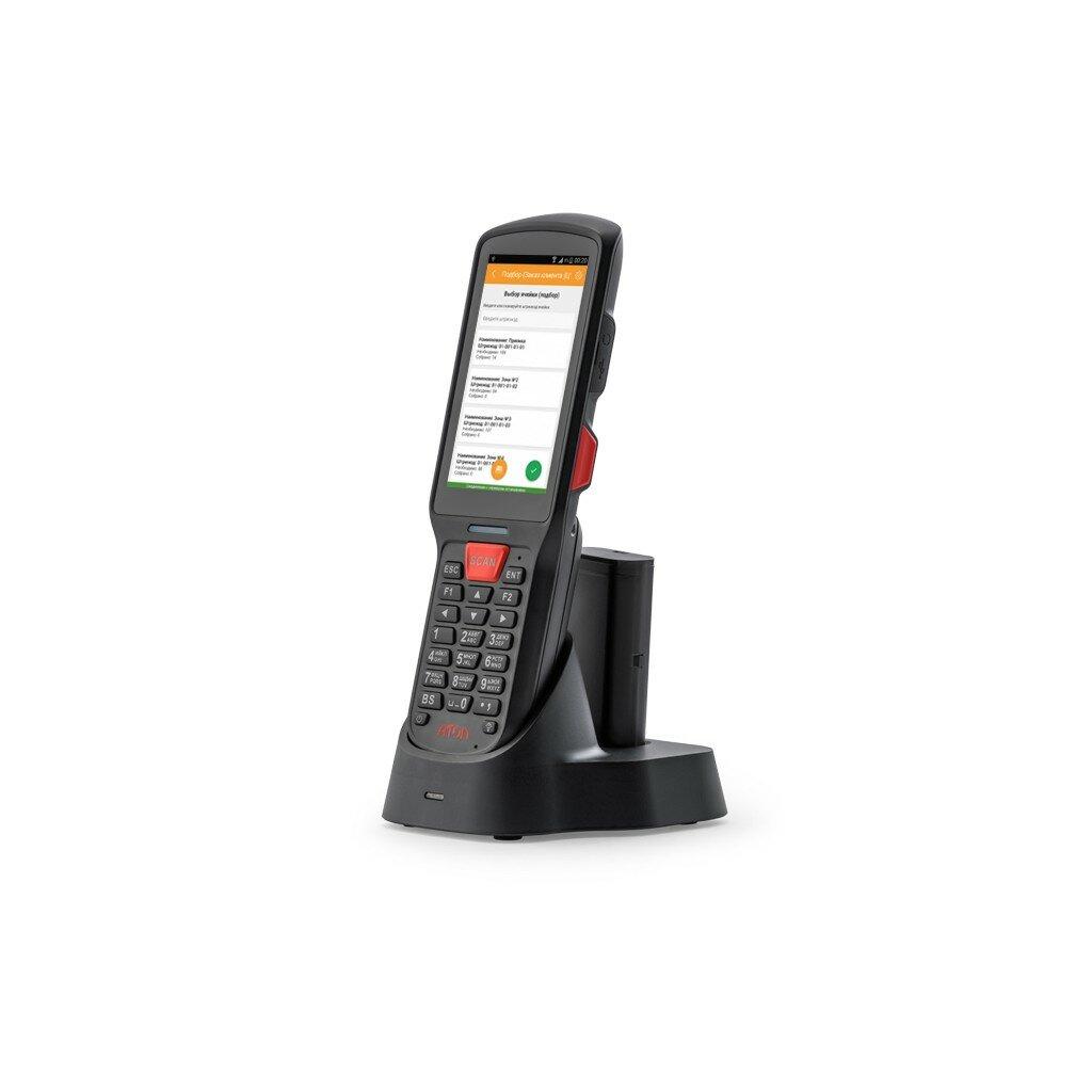 "Терминал сбора данных АТОЛ Smart.Lite (Android 7.0, 2D Imager SE4710, 4"", 2Гбх16Гб, Wi-Fi b/g/n, 5200 mAh, Bluetooth, БП)"