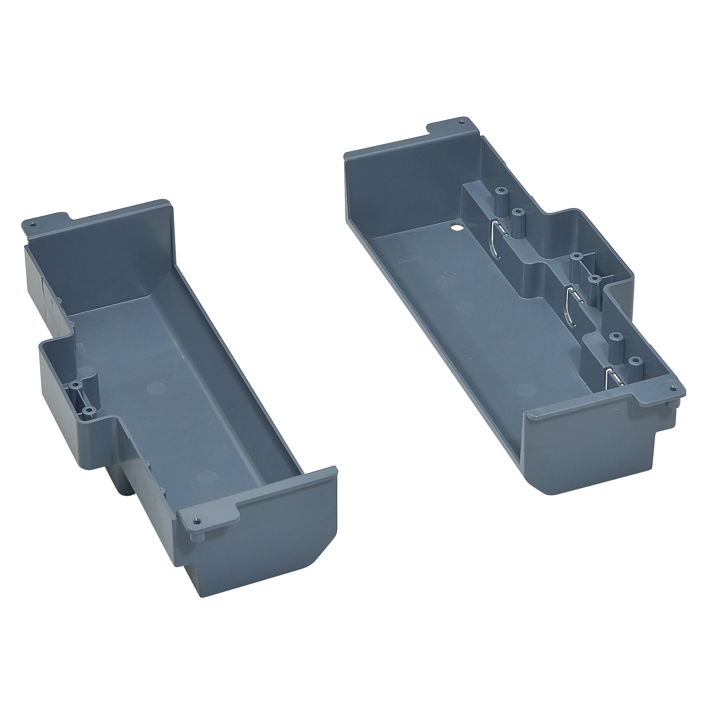 Изоляционная коробка для монтажа напольной коробки в фальшпол стандартное исполнение 2X6 модулей. Цвет Серый. Legrand (Легранд). 088027