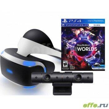 Sony PlayStation VR v2 + VR Worlds + PlayStation 4 Camera v2 (CUH-ZVR2)