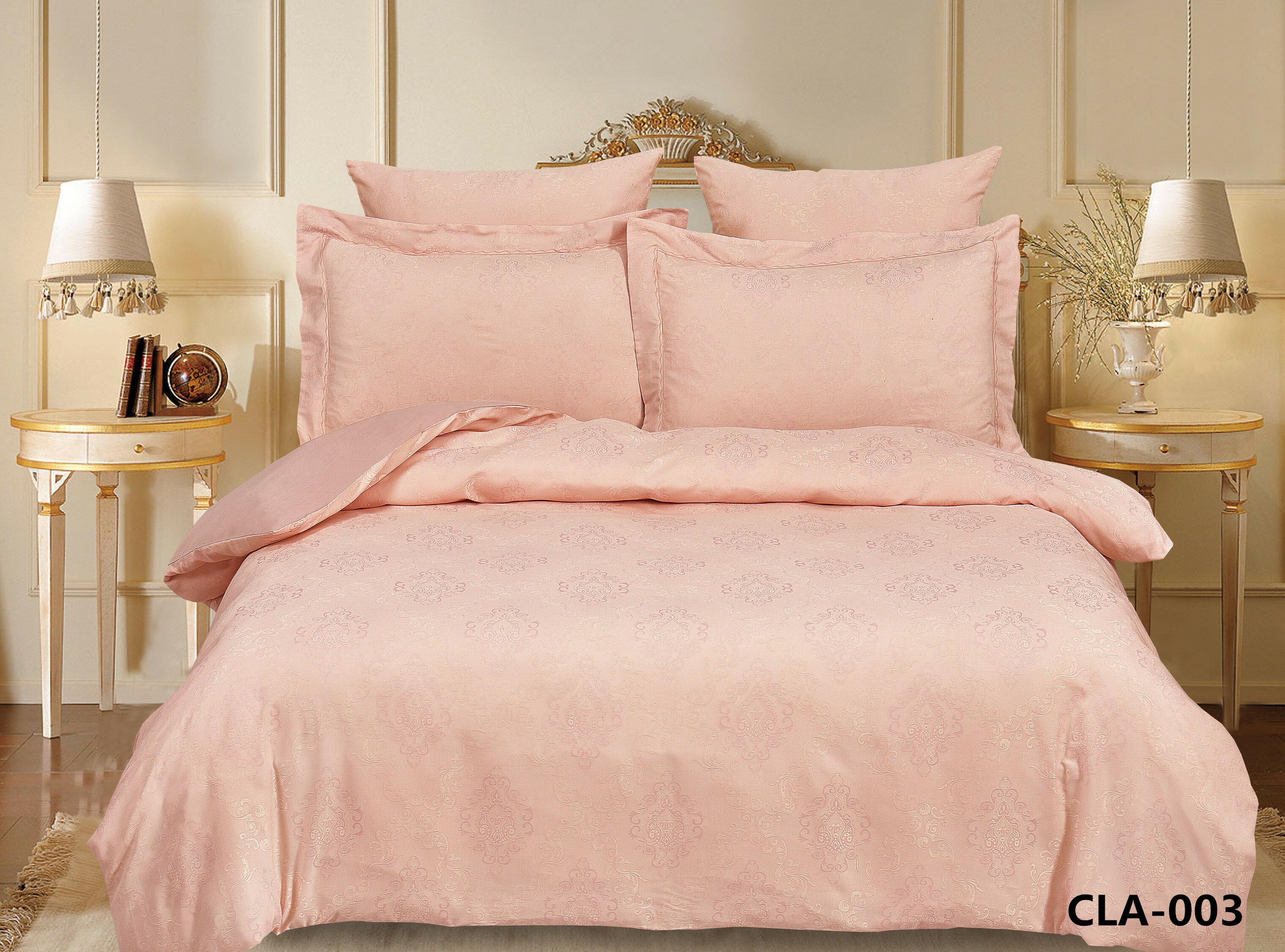 Комплект постельного белья Постельное белье, жаккард, евро, Альвитек