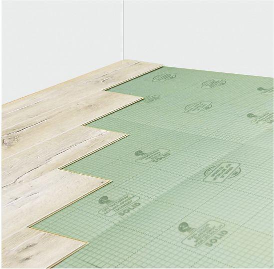 Подложка Solid LVT 1,5 мм под виниловый замковой ламинат (10 м²) — купить по выгодной цене на Яндекс.Маркете