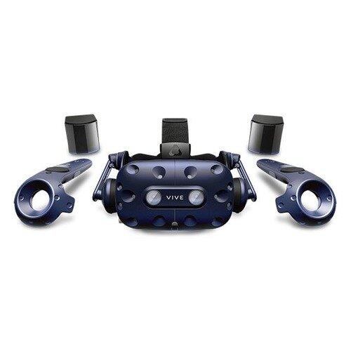 Очки виртуальной реальности HTC Vive Pro Full Kit, черный/синий [99hanw006-00]