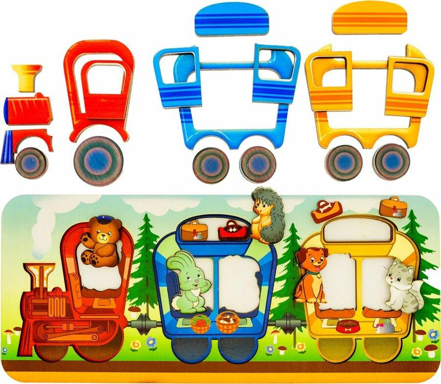 Картинка с паровозом детская