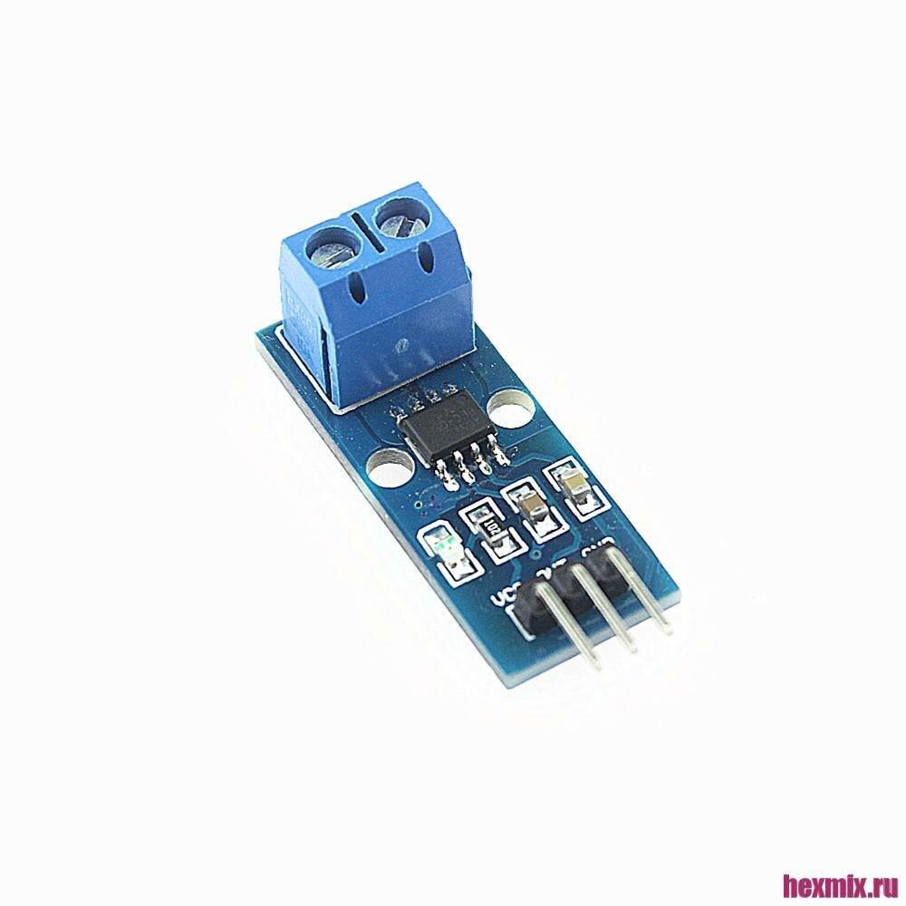 Датчик тока ACS712 20A