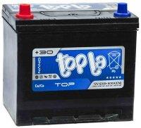 Аккумулятор автомобильный Topla Asia Top 65 А/ч 650 А прям. пол. 118765 Азия авто (232x173x225) с бортиком