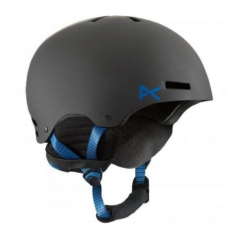 Шлем Anon Raider (XL, black/blue, 2014-2015)