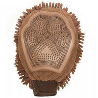 Перчатка для груминга Dog Gone Smart Grooming Mitt 25х18см коричневая