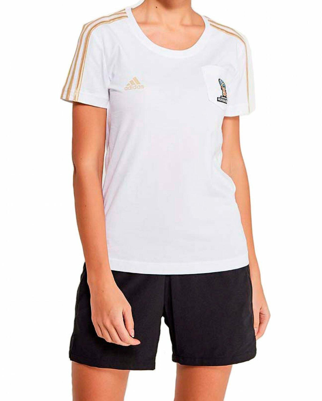 Футболка ADIDAS WC Emblem Female женская(S)