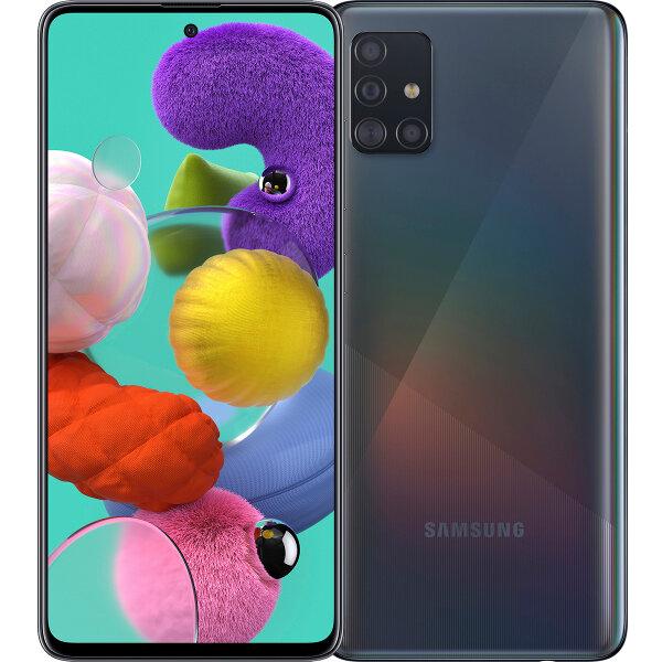 Смартфон Samsung Galaxy A51 64Gb Prism Crush Black