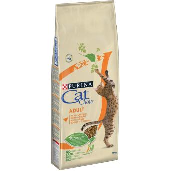 Purina Cat Chow Adult - сухой корм для взрослых кошек с курицей пурина кет чау эдалт