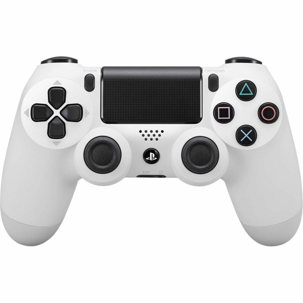 Sony Dualshock 4 v2 Color White Геймпад для Ps4 белый