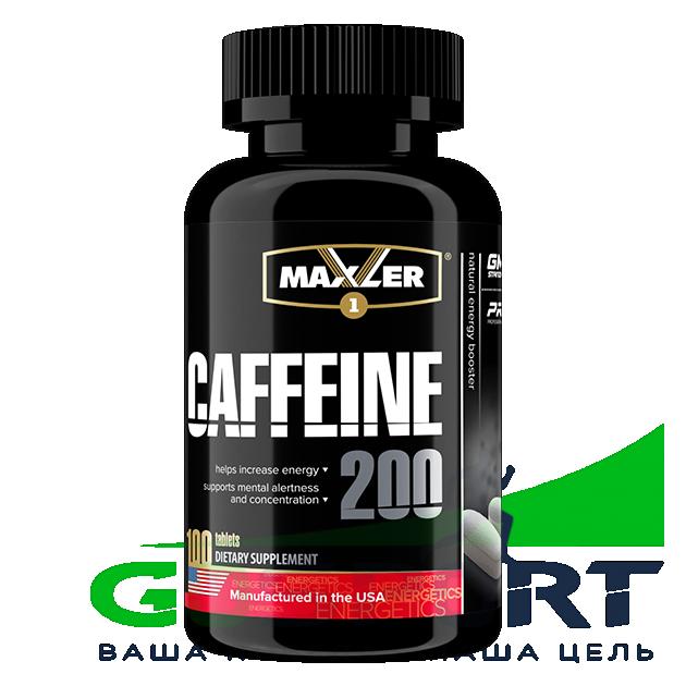 Энергетик MAXLER Caffeine 200 Нейтральный 100 таблеток