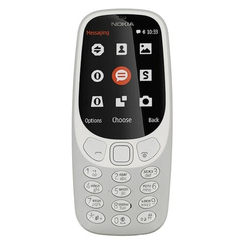 Мобильный телефон NOKIA 3310 dual sim 2017, серый