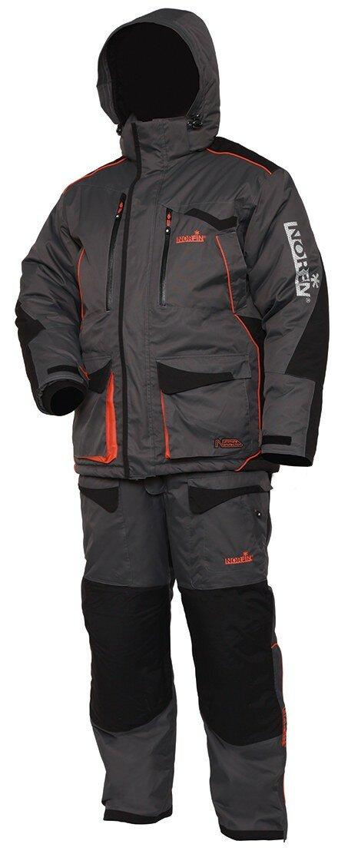 Рыболовный Зимний костюм Norfin Discovery Gray создан для рыбалки и охоты размер XXL