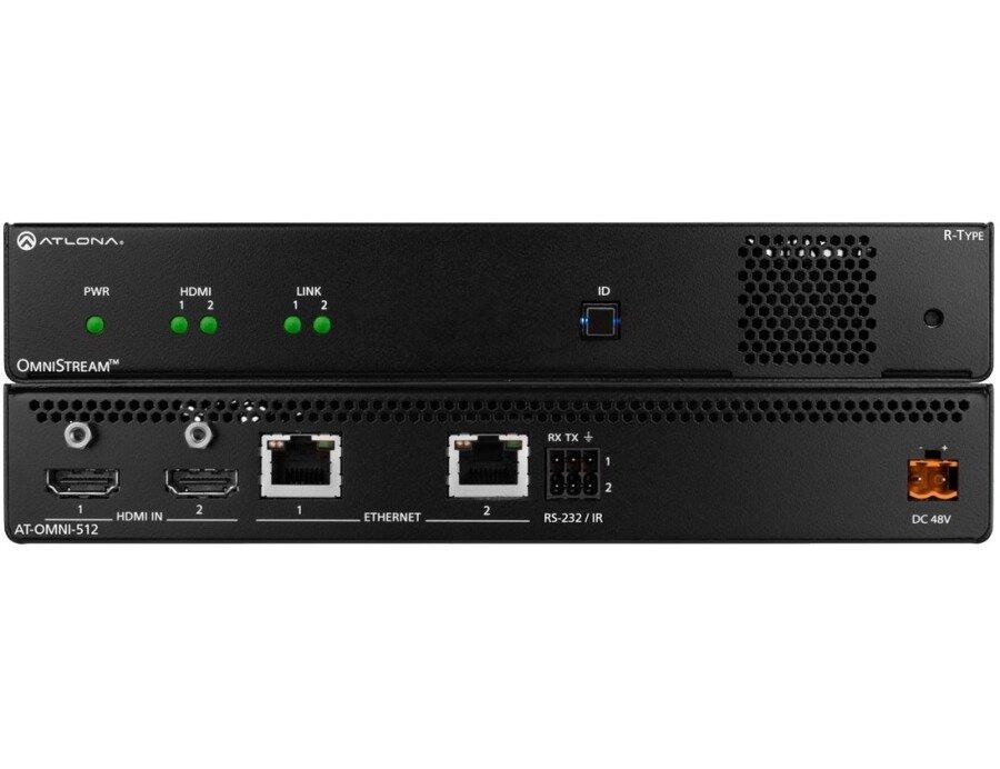 ATLONA AT-OMNI-512 Двухканальный кодер AV OmniStream серии R-Type
