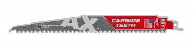 Полотно по дереву с гвоздями для саб. пилы MILWAUKEE AX CARBIDE TEETH 230x5 (1 шт.) 48005226