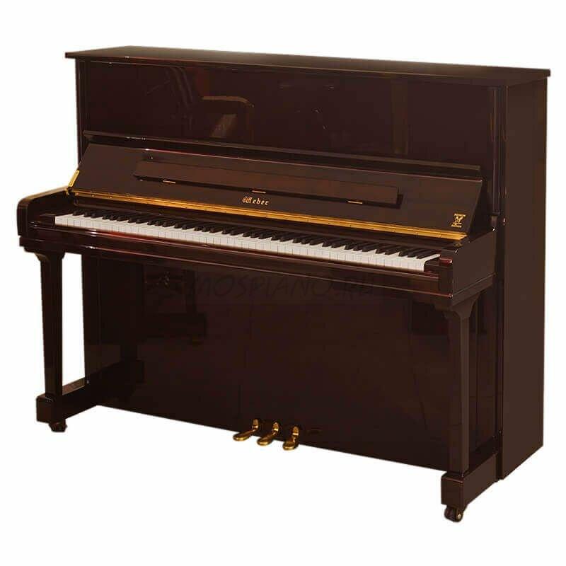 Пианино Weber Professional Studio W121 красное дерево, полированное