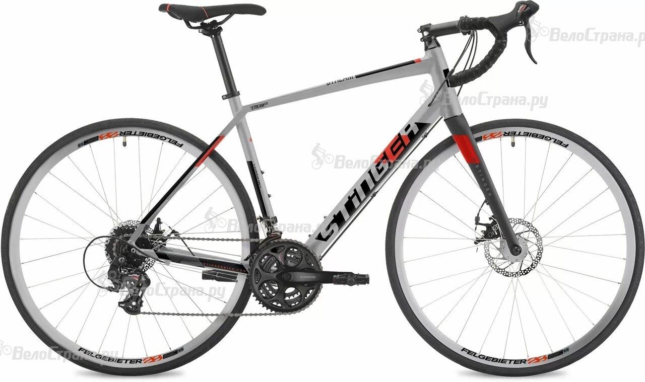 "Велосипед Stinger Stream STD 28"" (2019) Серебристый 19 ростовка"
