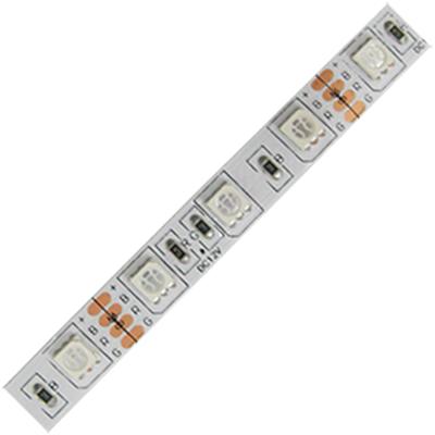 Ecola LED strip PRO 14.4W/m 12V IP20 10mm 60Led/m RGB разноцветная светодиодная лента 1м. P2LM1411B