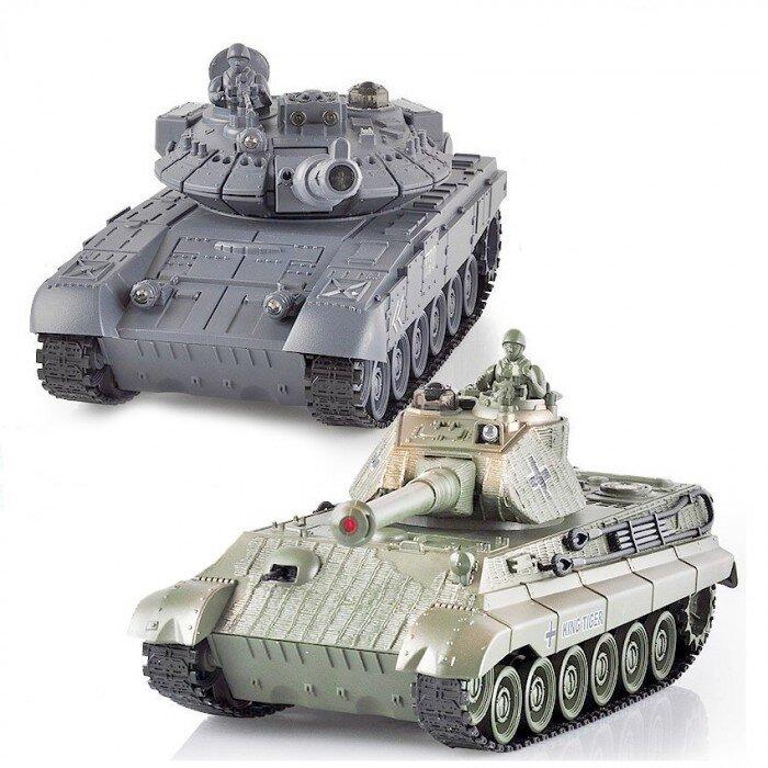Танк Tiger 1:28 фото 1