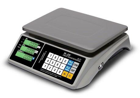 Весы настольные Mercury M-ER 328AC-15.2 Touch-M, LCD, RS232, USB