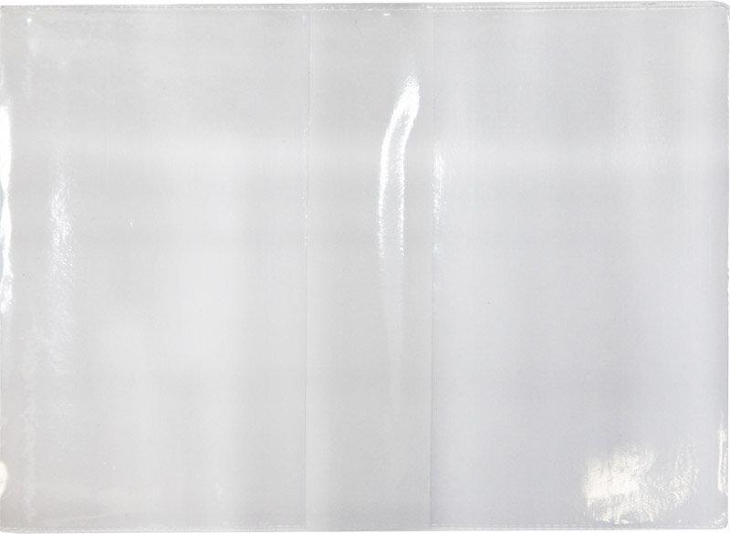 Обложка для паспорта ПВХ прозрачная Спейс Cd-PP-2_783