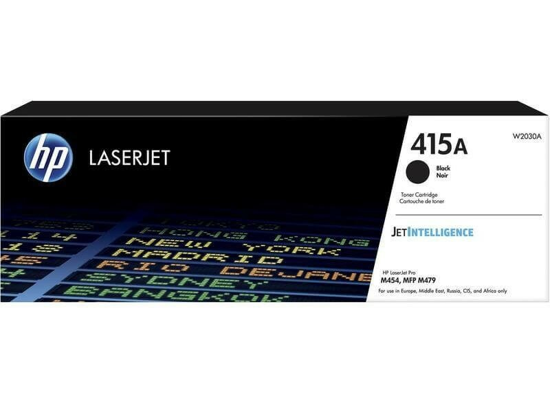 W2030A (415A) оригинальный картридж HP для принтера HP LaserJet M454/ MFP M479 black, 2400 страниц