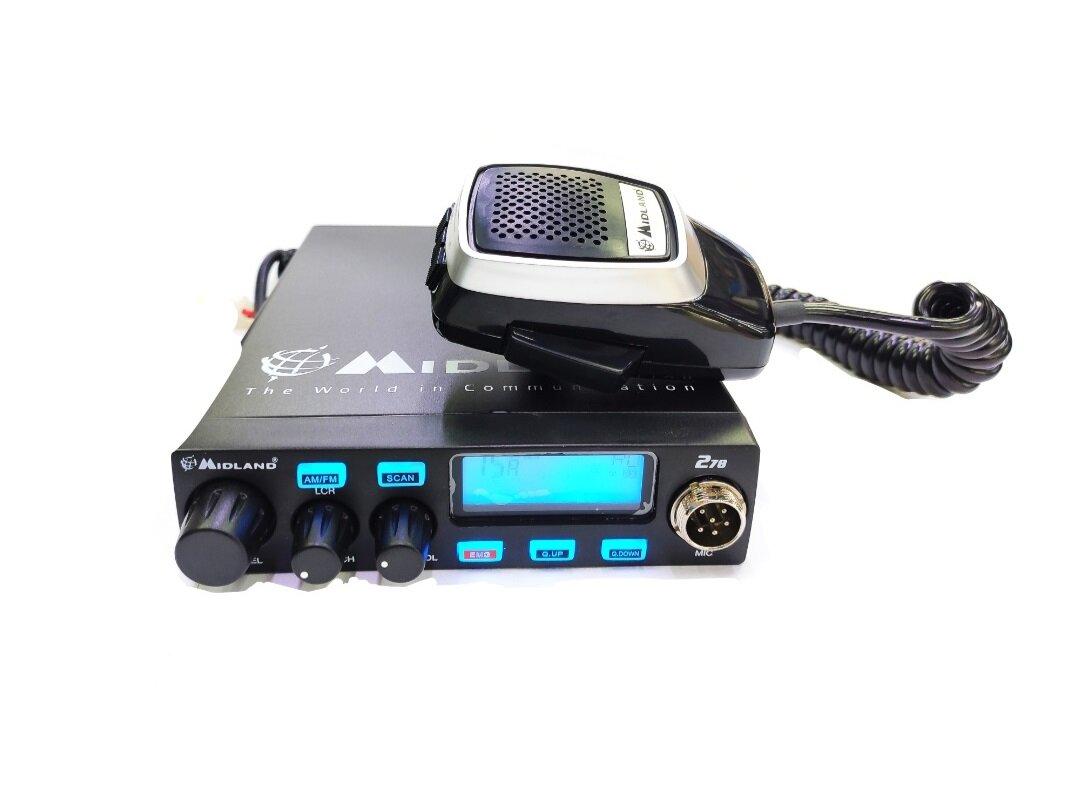 Автомобильная радиостанция Midland Alan 278