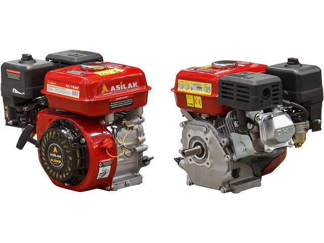 Бензиновый двигатель Asilak 6.5 л.с. (вал диам. 20 мм)