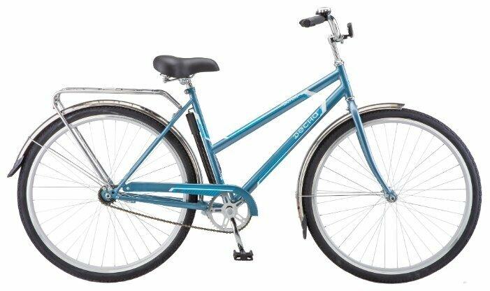 Городской велосипед Десна Вояж Lady 28 (2017) 20 голубой (требует финальной сборки)