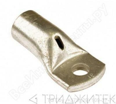 Клемма обжимная для провода сечением от 2.5 до 10 мм2 под винт М8, 20 шт.