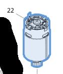 двигатель BUM168 (629945-9) MAKITA 629945-9
